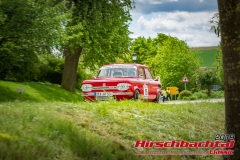 NSU TT BJ:  1970, 1300 ccm Werner Theis,  Gilching Startnummer:  015