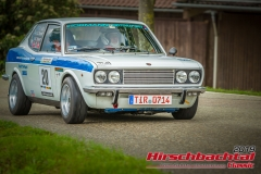 Fiat 128 Coupe BJ:  1972, 1300 ccm Detlef Bayer,  Wiesau Startnummer:  020