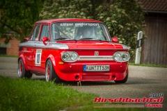 NSU Prinz 1000 BJ:  1969, 1298 ccm Hartmut Loew,  Niedenhall Startnummer:  010