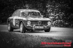 Alfa Romeo Junior GT BJ:  1970, 1300 ccm Reinhold Kerst,  Waiblingen Startnummer:  011