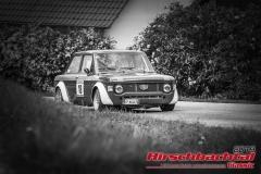 Fiat 128 Giannini NPS BJ:  1971, 1300 ccm Massimo Togni,  Grainau Startnummer:  018