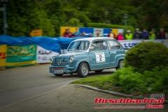 Fiat 1000 tc BJ:  1958, 1050 ccm Hans Werschnik,  Emmering Startnummer:  002