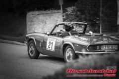 Triumph Spitfire BJ:  1972, 1300 ccm Tom Rinsland,  Regensburg Startnummer:  021