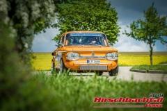NSU TT BJ:  1968, 1300 ccm Karlheinz Stangneth,  Regensburg Startnummer:  008
