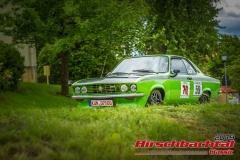 Opel Manta A GT/E BJ:  1974, 1897 ccm Eberhard Tweedy Wiedmann,  Neuenstein/ Eschelbach Startnummer:  059