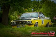 Opel Manta A GTE BJ:  1976, 1900 ccm Burkhard Schirrmacher,  Forchtenberg Startnummer:  062