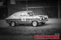 Opel Kadett B Coupe BJ:  1970, 1900 ccm Nico Zitzmann,  Steinach Startnummer:  049