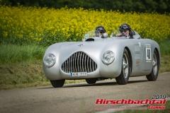 Veritas BJ:  1948, 2000 ccm Eberhard Munz,  Ingelfingen Startnummer:  040