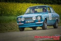 Ford Escort RS 2000 BJ:  1973, 1955 ccm Uwe Jordan,  Zweiflingen Startnummer:  057