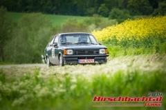 Opel Kadett C Coupe Rallye BJ:  1978, 2000 ccm Guido Dietz,  Forchtenberg Startnummer:  065