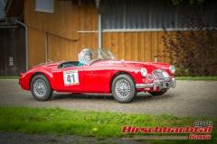 MG A BJ:  1958, 1500 ccm Peter Schuhmacher,  Eurasburg Startnummer:  041