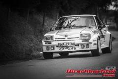 Opel Manta 400 BJ:  1982, 2935 ccm Roland Gayde, Pfedelbach  Startnummer:  097
