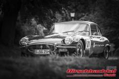 Jaguar E-Type Roadster BJ:  1966, 3500 ccm Kevin Scheuing,  Stuttgart  Startnummer:  081