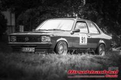 Opel Kadett C Limousine BJ:  1978, 2500 ccm Ralf Albani, Kuppenheim  Startnummer:  091