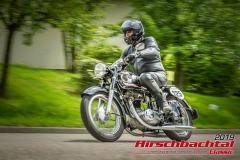 Horex ReginaBJ:  1954, 400 ccmWolfgang Roth,  BabenhausenStartnummer:  125