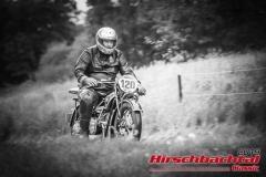 HBMW R 42 BJ:  1928, 500 ccm Günter Weiglmeier,  Röttenbach  Startnummer:  120