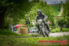 Horex Regina BJ:  1954, 400 ccm Wolfgang Roth,  Babenhausen  Startnummer:  125
