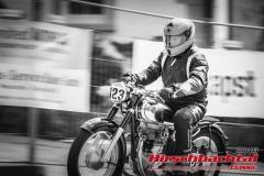 Horex Resident BJ:  1954, 350 ccm Johann Bauer,  Ingolstadt  Startnummer:  123