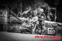 Horex Regina Sport GespannBJ:  1955, 400 ccmAndreas Schneider/Samuel Schneider,  SeltersStartnummer:  151