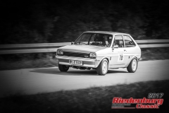 Manfred Eibl,Ford Fiesta,BJ:  1978, 1100 ccm,Startnummer :  016