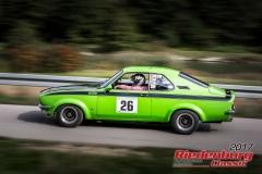 Harald Baur,Opel Manta,BJ:  1971, 2000 ccm,Startnummer :  026