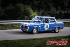Christian Wagner,Alfa Romeo Giulia,BJ:  1973, 1600 ccm,Startnummer :  033
