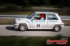 Josef Sussbauer,Renault R5 Alpine turbo,BJ:  1983, 1400 ccm,Startnummer :  048