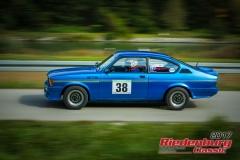 Michael Metz,Opel Kadett C GTE,BJ:  1977, 1950 ccm,Startnummer :  038