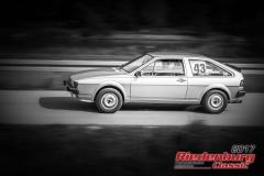Sylvia Zeussel,VW Scirocco,BJ:  1979, 1500 ccm,Startnummer :  043