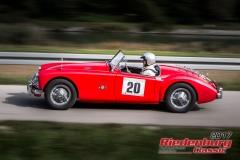 Peter Schuhmacher,MG A,BJ:  1958, 1500 ccm,Startnummer :  020