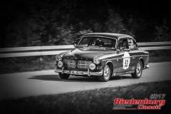 Alois Poschenrieder,Volvo P 121,BJ:  1965, 2150 ccm,Startnummer :  053