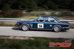 Frank Peugler,BMW CSBJ:  1972, 3000 ccm,Startnummer :  058