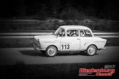 Frank Lindenthal,Glas Isar,BJ:  1963, 700 ccm,Startnummer :  113
