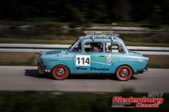 Johann Roiger,Glas Isar,BJ:  1963, 1000 ccm,Startnummer :  114