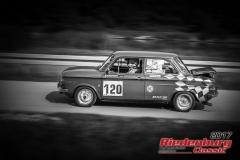 Helmut Burner,NSU 1000 L,BJ:  1965, 1200 ccm,Startnummer :  120