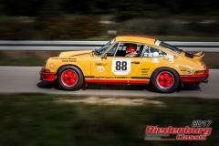 Fritz Mehringer,Porsche 911,BJ:  1971, 2400 ccm,Startnummer :  088
