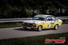 Gustav Abele,Opel C Kadett,BJ:  1978, 2000 ccm,Startnummer :  097
