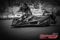 Anton Soff / Michael Soff,Yamaha Gespann,BJ:  1974, 1000 ccm,Startnummer :  185