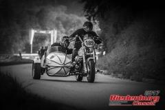 Herbert Schreiber/ Claus Hauf,Moto Guzzi California II Gespann,BJ:  1979, 942 ccm,Startnummer :  189