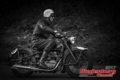 Danny Hüttig,AWO 425,BJ:  1949, 250 ccm,Startnummer :  205