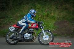 Hermann Dittrich,Honda CB,BJ:  1975, 250 ccm,Startnummer :  226