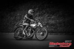 Edgar Riepl,Norton Inter 40,BJ:  1933, 350 ccm,Startnummer :  200