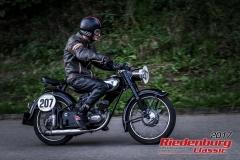 Erik Thees,DKW RT,BJ:  1952, 125 ccm,Startnummer :  207
