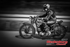 Florian Gottswinter,Triumph 3 HW,BJ:  1940, 350 ccm,Startnummer :  203