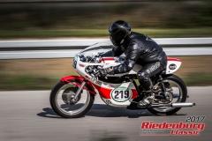 Christian Schnell,Honda,BJ:  1966, 350 ccm,Startnummer :  219