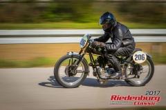 Stefan Hetsch,BMW R 25,BJ:  1951, 250 ccm,Startnummer :  206