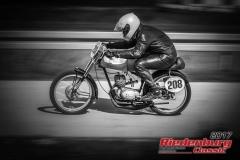 Peter Motzet,DKW RT,BJ:  1953, 125 ccm,Startnummer :  208