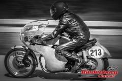 Anton Anzi,NSU Sportmax,BJ:  1955, 250 ccm,Startnummer :  213