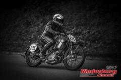 Udo Hobl,Scott TT Replica,BJ:  1930, 500 ccm,Startnummer :  235