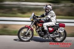 Karl Sengstbratl,Honda CB 350,BJ:  1972, 325 ccm,Startnummer :  242